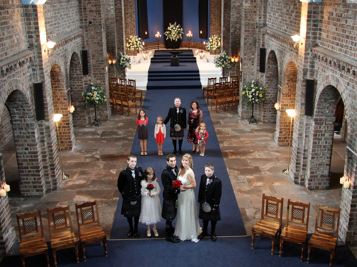 Paul taylor gretna wedding